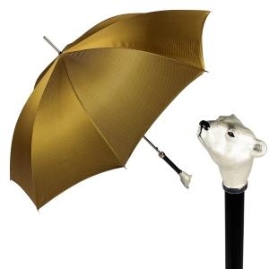 Зонт-трость Pasotti Polar Bear Pepita фото-1