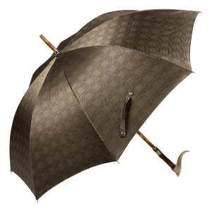 Зонт-трость Pasotti Mutton Horn Milford Beige фото-4