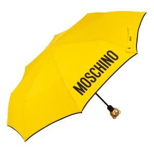 Зонт складной Moschino 8080-OCU Gift Bear Yellow фото-2