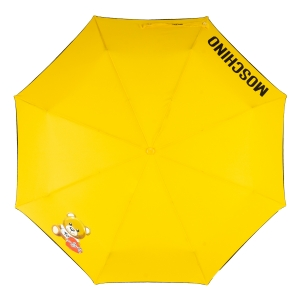 Зонт складной Moschino 8080-OCU Gift Bear Yellow фото-3