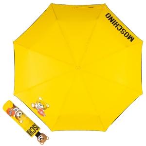 Зонт складной Moschino 8080-OCU Gift Bear Yellow фото-1