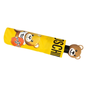 Зонт складной Moschino 8080-OCU Gift Bear Yellow фото-5
