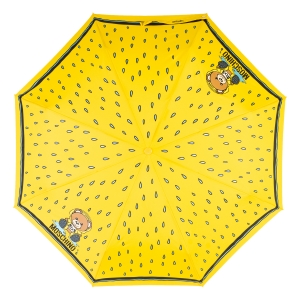 Зонт складной Moschino 8058-OCU Bear in the rain Yellow фото-3