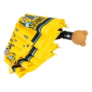 Зонт складной Moschino 8058-OCU Bear in the rain Yellow фото-4