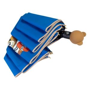 Зонт складной Moschino 8080-OCF Gift Bear Blue фото-4