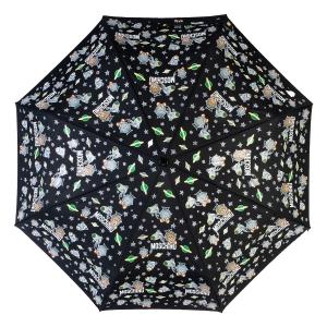 Зонт складной Moschino 8045-OCA Space Bear Black фото-3
