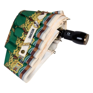 Зонт складной Moschino 8044-OCI Belts Bear Beige Multi фото-4