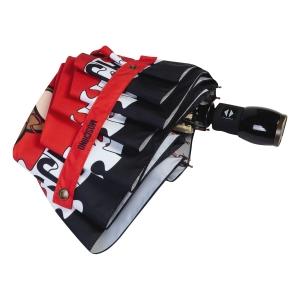 Зонт складной Moschino 8046-OCС Puzzle Bear Red фото-4