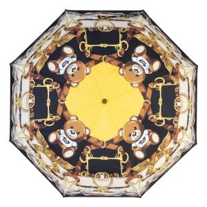 Зонт складной Moschino 8044-OCA Belts Bear Black Multi фото-5