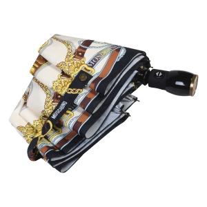 Зонт складной Moschino 8044-OCA Belts Bear Black Multi фото-3