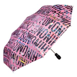 Зонт складной Moschino 8600-OCN Boombox Pink фото-2