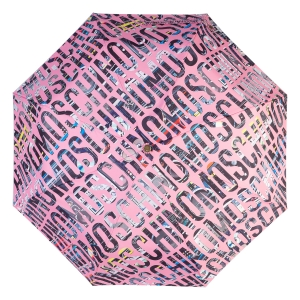 Зонт складной Moschino 8600-OCN Boombox Pink фото-3