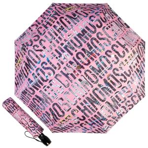 Зонт складной Moschino 8600-OCN Boombox Pink фото-1