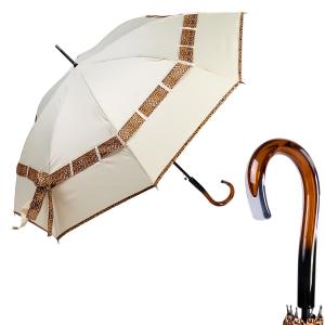 Зонт-трость Ferre 5010-LA Biocco Bianco фото-1