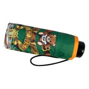 Зонт складной Moschino 8044-superminiI Belts Bear Beige Multi фото-4