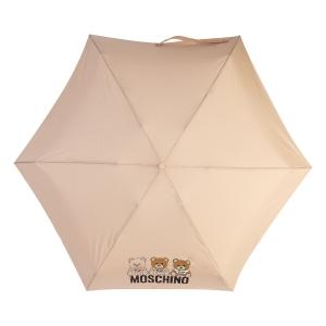 Зонт складной Moschino 8061-SuperminiA Bear Scribbles Beige фото-3