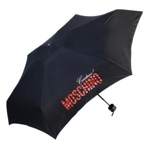 Зонт складной Moschino 8900-SuperminiH Glitter Red фото-2