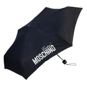 Зонт складной Moschino 8900-SuperminiH Glitter Silver фото-2