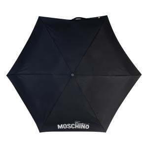 Зонт складной Moschino 8900-SuperminiH Glitter Silver фото-3