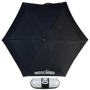 Зонт складной Moschino 8900-SuperminiH Glitter Silver фото-1