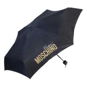 Зонт складной Moschino 8900-SuperminiH Glitter Gold фото-2