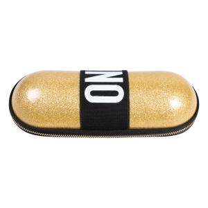 Зонт складной Moschino 8900-SuperminiH Glitter Gold фото-4