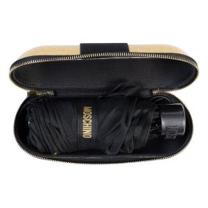 Зонт складной Moschino 8900-SuperminiH Glitter Gold фото-5