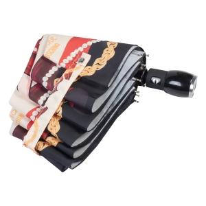 Зонт складной Moschino 7950-OCI Olivia Makeup Beige фото-4