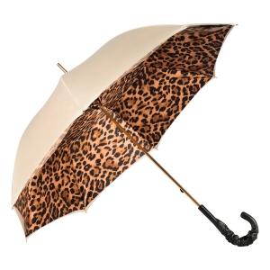 Зонт-трость Pasotti Ivory Leoparde Pelle фото-3