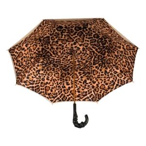 Зонт-трость Pasotti Ivory Leoparde Pelle фото-4