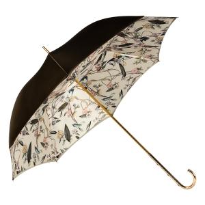 Зонт-трость Pasotti Oliva Foresta Penna Oro фото-3