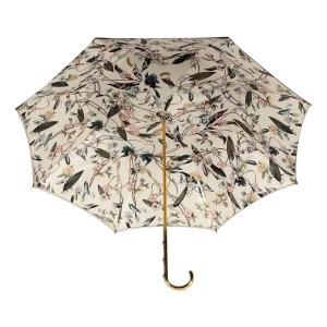 Зонт-трость Pasotti Oliva Foresta Penna Oro фото-4