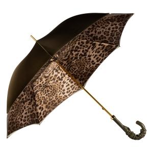 Зонт-трость Pasotti Oliva Leo Pelle фото-3