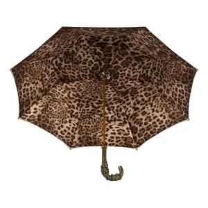 Зонт-трость Pasotti Oliva Leo Pelle фото-4
