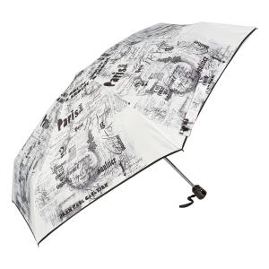 Зонт складной Jean Paul Gaultier 1313-OC Ecritues Blanc фото-3
