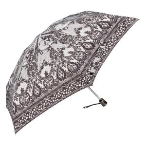 Зонт складной Jean Paul Gaultier 919-OC mini Tour Eiffel Noir/Blanc фото-2