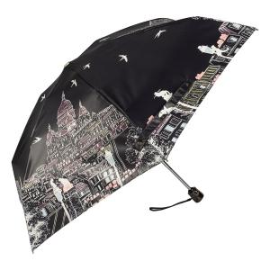 Зонт складной Guy De Jean 3025-OC Montmatre Noir фото-3