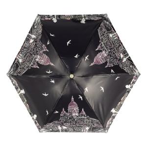 Зонт складной Guy De Jean 3025-OC Montmatre Noir фото-2