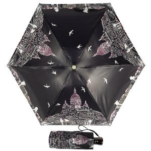 Зонт складной Guy De Jean 3025-OC Montmatre Noir фото-1