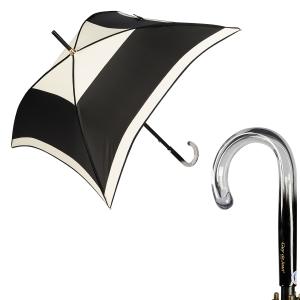 Зонт-трость Guy De Jean Kyoto Noir Crema фото-1