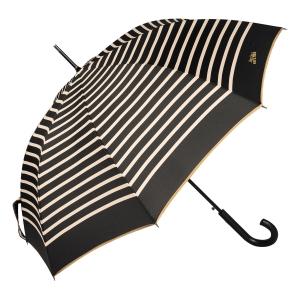 Зонт-трость Jean Paul Gaultier 206-LA Stripes Noir/Crema фото-3