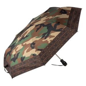 Зонт складной Moschino 8595-OCA Camouflage Multi фото-2