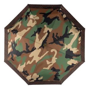 Зонт складной Moschino 8595-OCA Camouflage Multi фото-3
