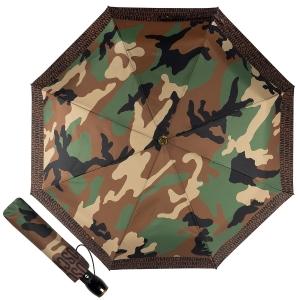 Зонт складной Moschino 8595-OCA Camouflage Multi фото-1