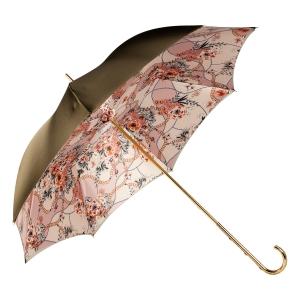Зонт-трость Pasotti Oliva Jewels Penna Oro фото-3