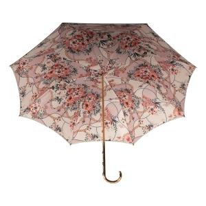 Зонт-трость Pasotti Oliva Jewels Penna Oro фото-4