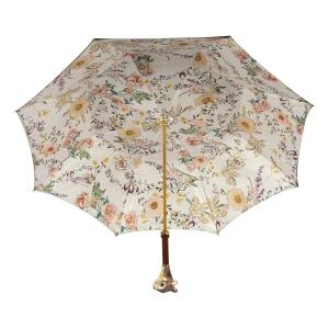 Зонт-трость Pasotti Oliva Campanula Scoiattolo Lux фото-3