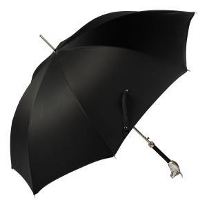 Зонт-трость Pasotti Toro Silver Oxford Black фото-4