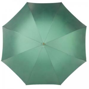 Зонт-трость Pasotti Verde Camelia Oro Dentel фото-2