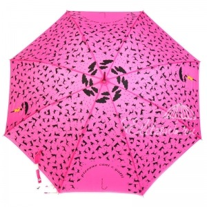 Зонт-трость Emme 364-LA Cats and Dogs Pink фото-2